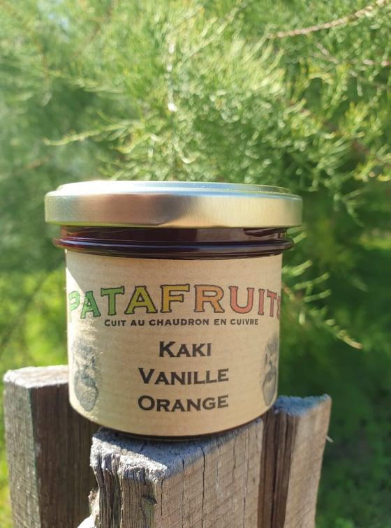 Kaki orange vanille
